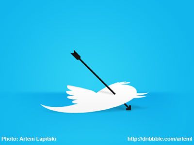 Your Twitter Feed Sucks! (Photo: Artem Lapitski, http://dribbble.com/arteml)